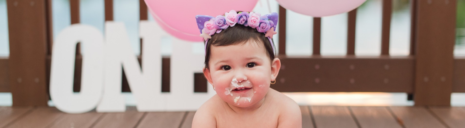 Ariana's 1st Birthday Shoot and Cake Smash