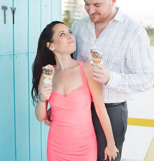 Stacey & Jared + South Pointe Park Engagement Session + Miami Beach, FL