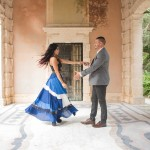 Vizcaya Gardens Engagement Shoot - Miami Florida (13)