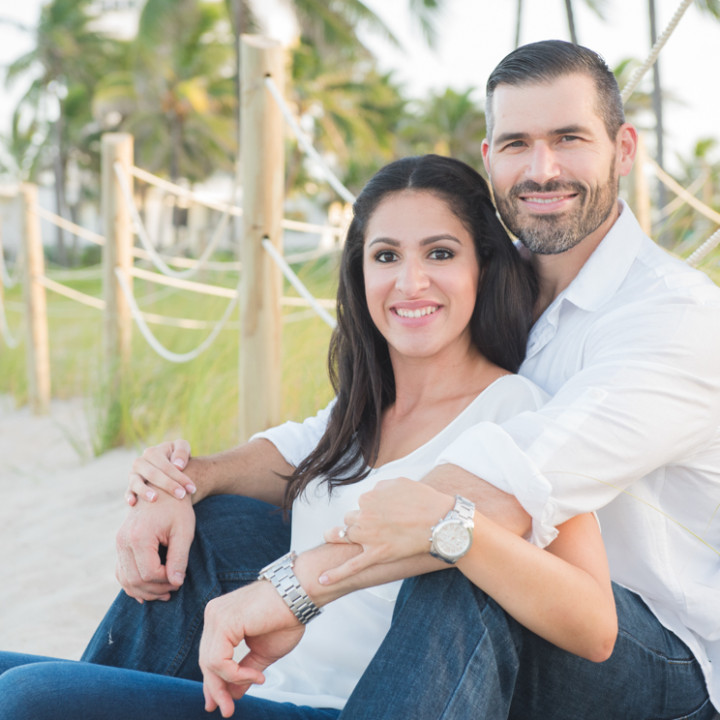 Scott + Patricia's Double Engagement - Robbins Lodge Park & Deerfield Beach - South Florida, USA